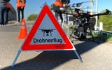 There are clear regulations governing the use of drones in the vicinity of railway infrastructure.